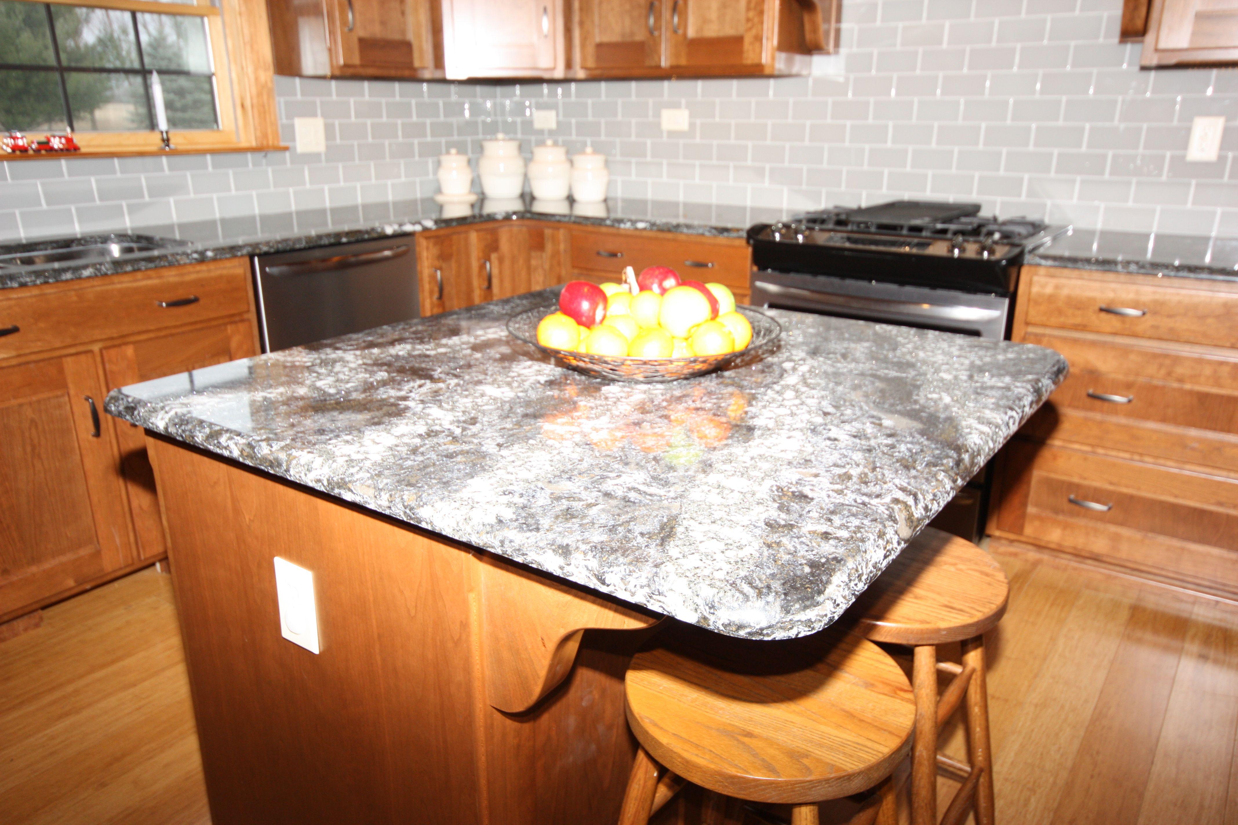 Cabinets Dark Oak On Cherry Countertops Ellesmere Cambria Quartz Kitchen Islands Pinterest