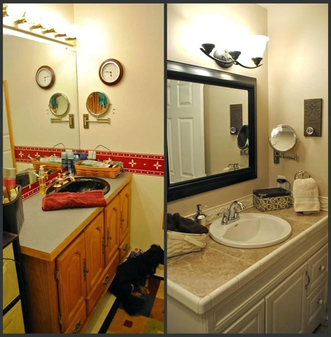 33 Brilliant RV Bathroom Remodel Ideas Before And After