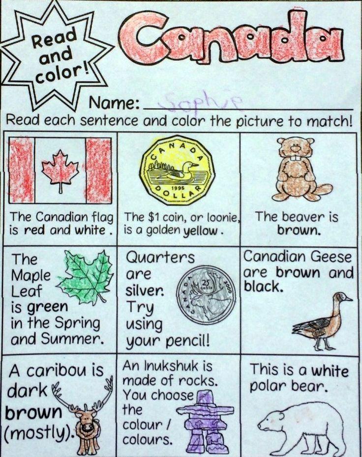 Fun Noprep Canada Literacy Activities Canada Day