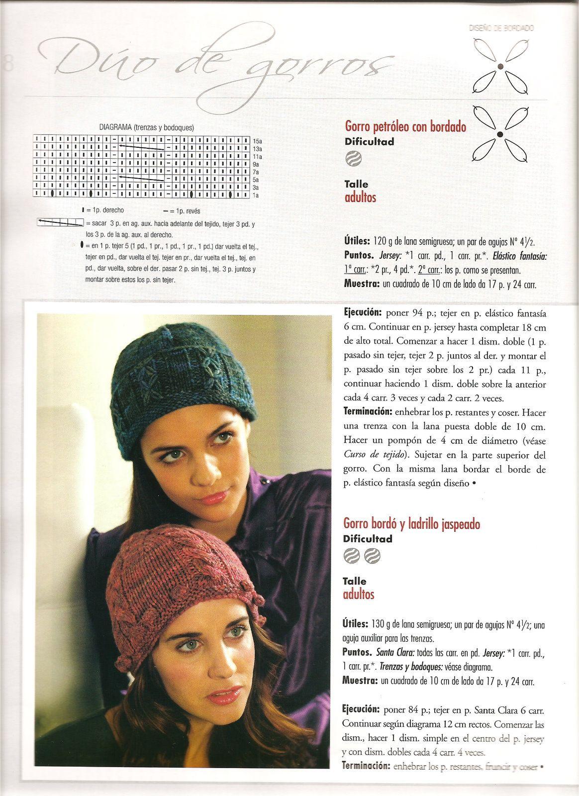 Excepcional Patrón De Crochet Libre Para El Sombrero Subordinado ...
