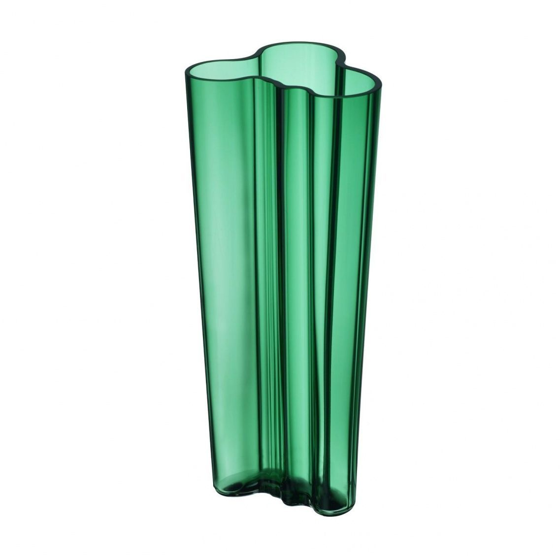 Iittala Alvar Aalto Vase 255mm Emerald Green Alvar