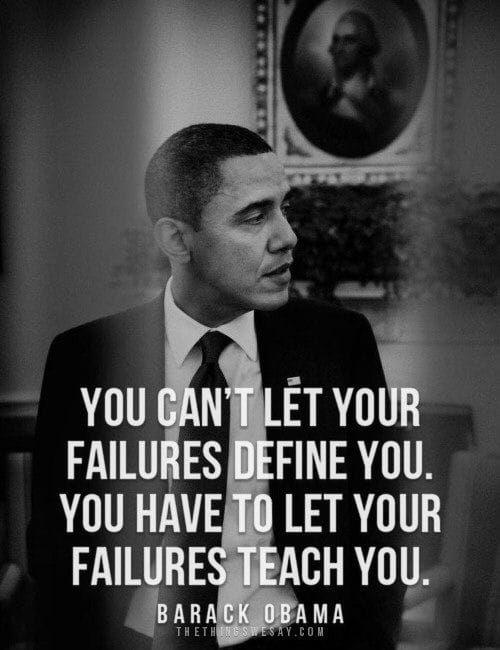 Words of Encouragement From Barack Obama