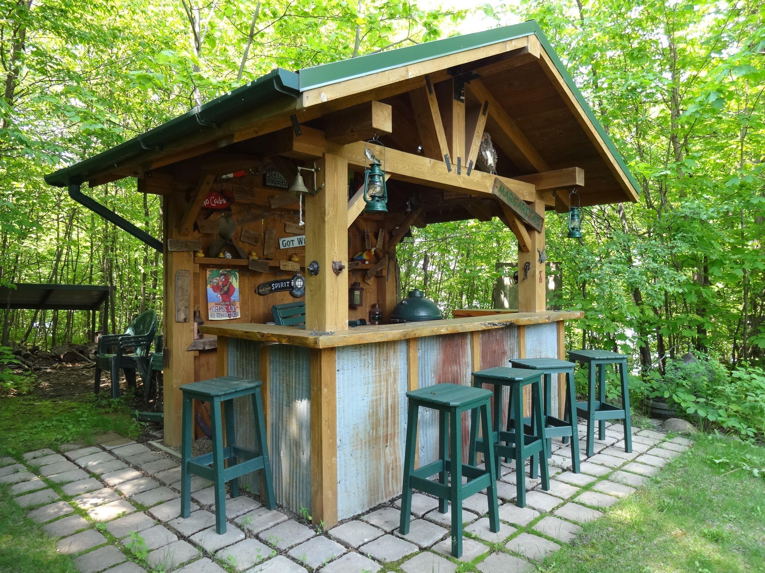 23 Incredible Diy Outside Bar Ideas: 13+ Creative Outdoor Bar Ideas For Your Backyard