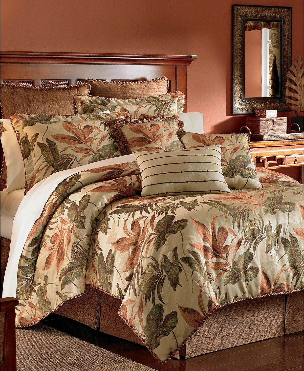 Croscill Bali Queen 4 Pc Comforter Set Bedding Collections Bed Bath Macy S