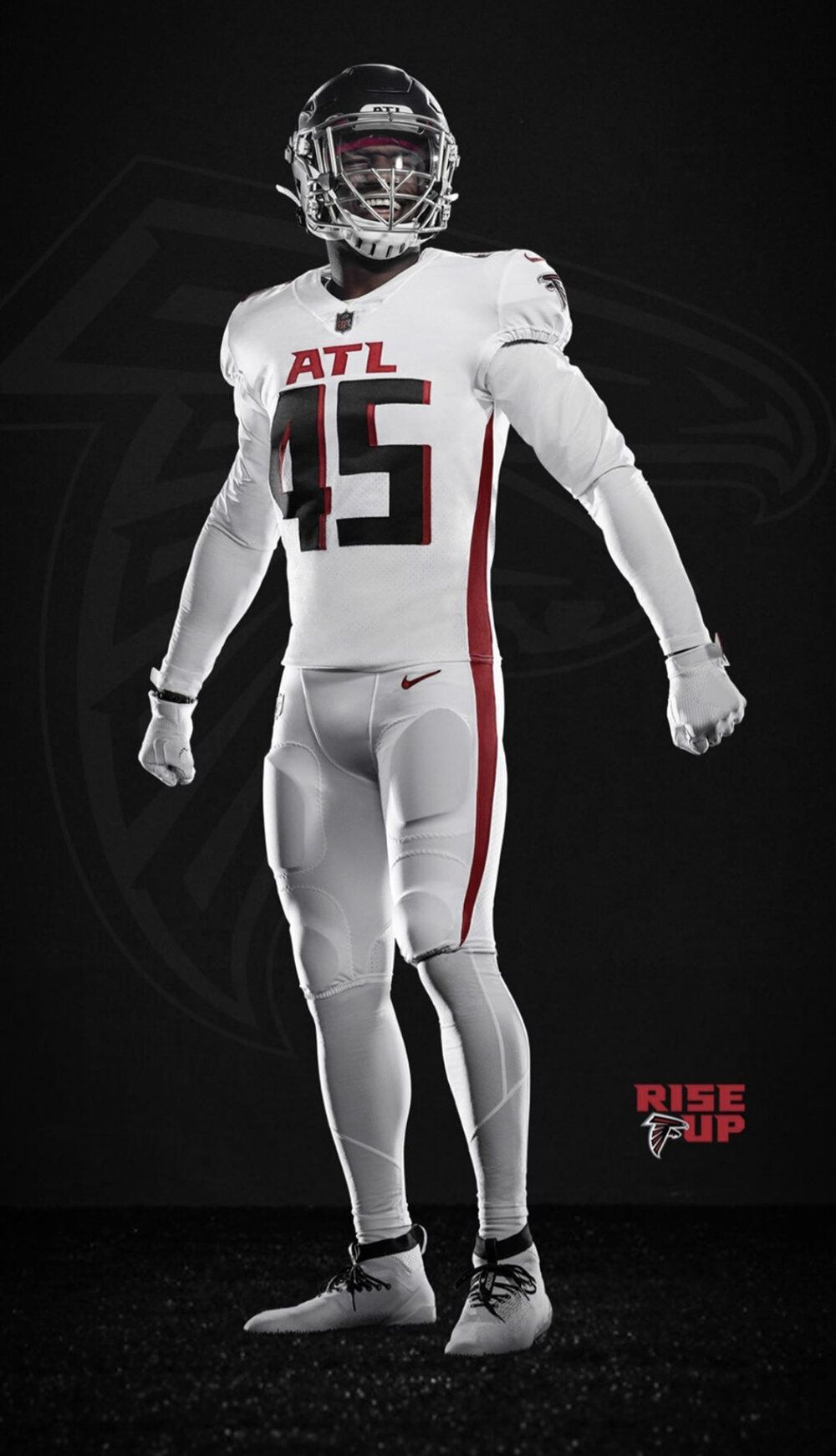 Atlanta Falcons New Uniforms Uniswag In 2020 Nfl Outfits Atlanta Falcons Atlanta Falcons Players
