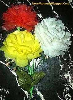 Cara Bikin Bunga Plastik : bikin, bunga, plastik, Yanti, Bunga, Dahlia,, Bunga,, Dahlia