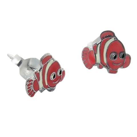 Kids' jewelry:  sterling silver Nemo kids earrings.  $20.26