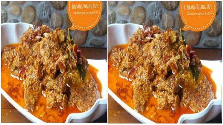 Resep Membuat Rendang Daging Sapi Ala Jeng Eva Resep Jempolan Untuk Idul Adha Masakan Daging Resep