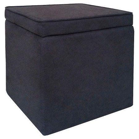 Excellent Room Essentials Cube Storage Ottoman Light Blue Target Machost Co Dining Chair Design Ideas Machostcouk