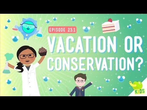 Vacation or Conservation (Of Mass): Crash Course Kids #23 ...