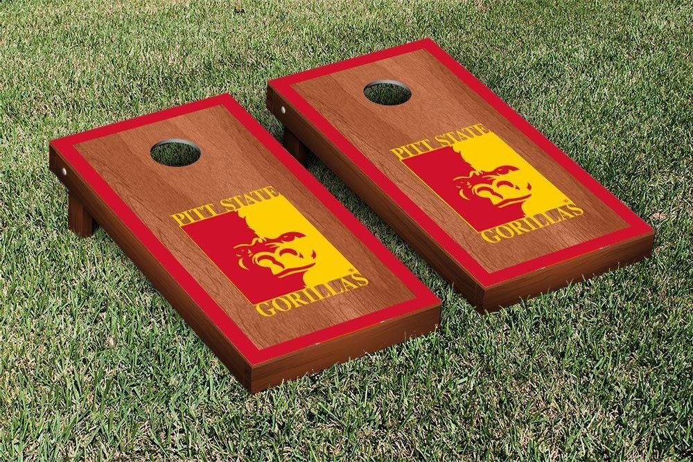 Pittsburg State Gorillas Rosewood Cornhole Bag Toss Set