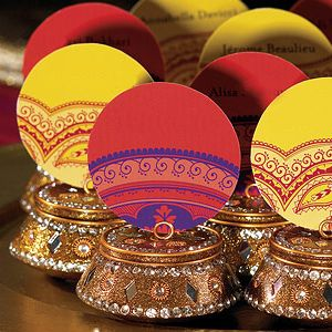 Favors From India | accent your indian theme wedding with ...