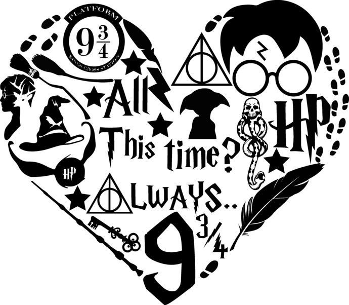 Download HP Heart in 2020 | Harry potter diy, Harry potter shirts ...