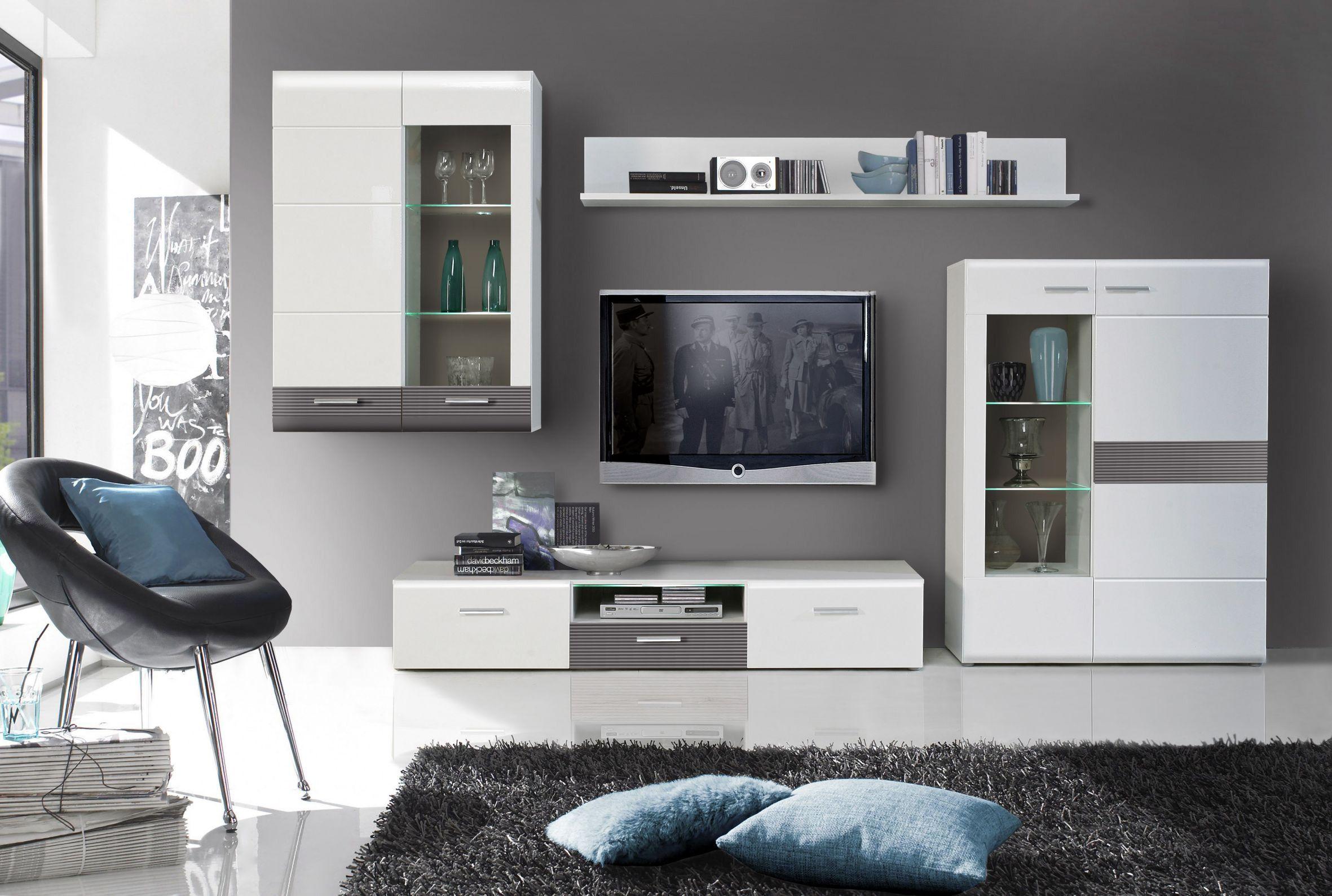 pin von ladendirekt auf schr nke pinterest wohnen wohnzimmer und wohnwand weiss. Black Bedroom Furniture Sets. Home Design Ideas