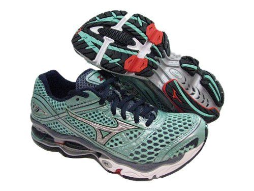 best sneakers 78427 6952a Mizuno Womens Wave Creation 13 Green Running Shoes US 6 NIB ...