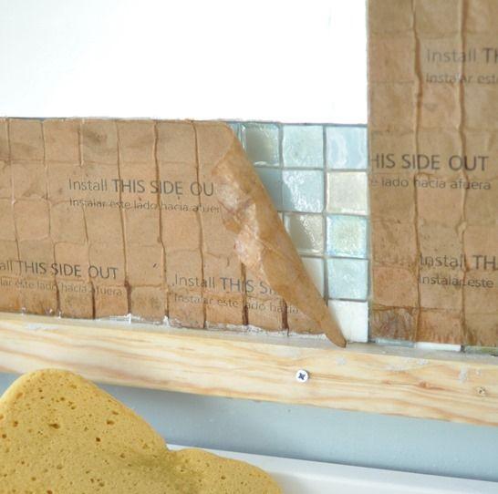 Centsational Girl » Blog Archive DIY: Mosaic Tile Bathroom Mirror - Centsational Girl