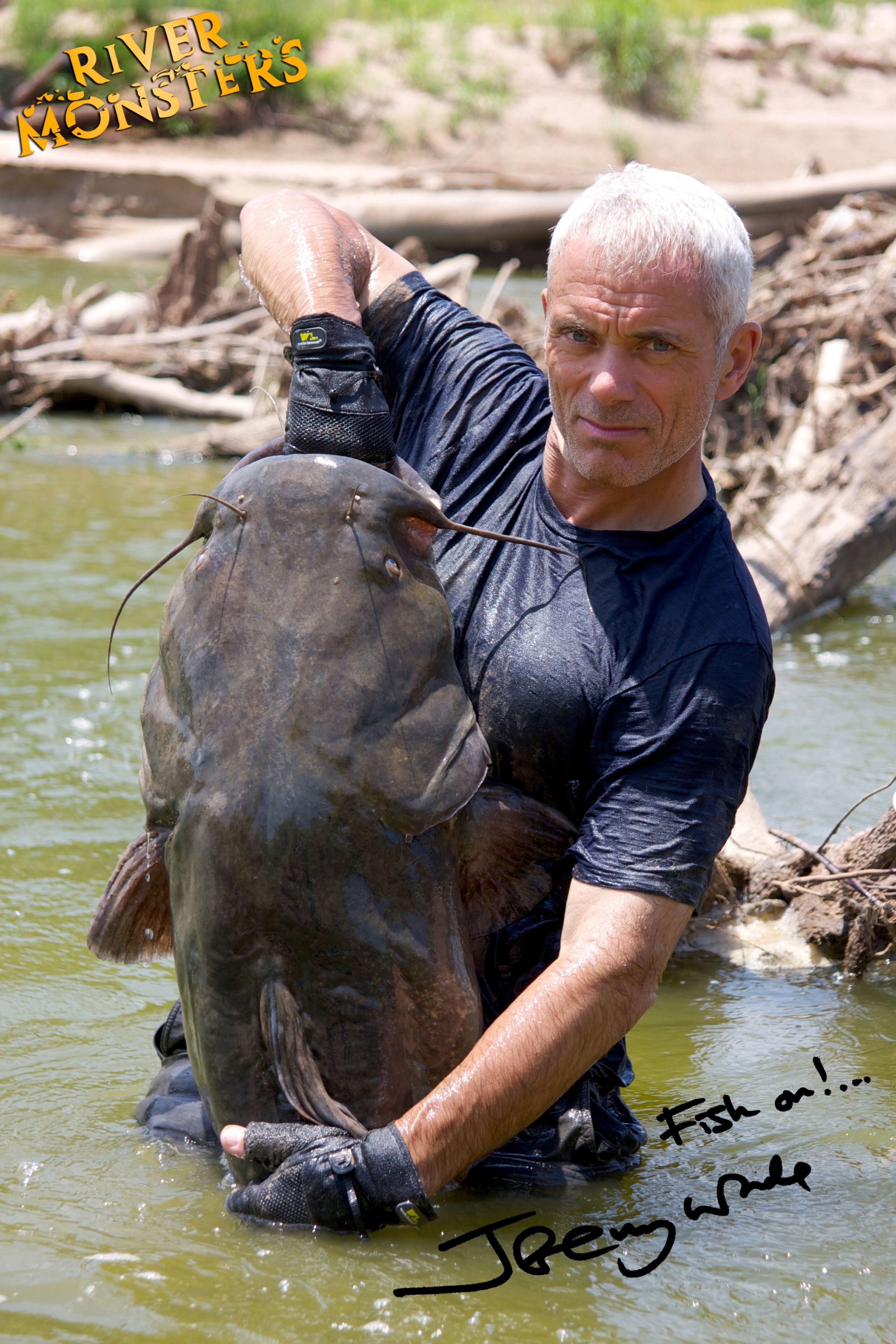 RiverMonsters.tv - el sitio web oficial de todo el mundo sobre River Monsters con Jeremy Wade