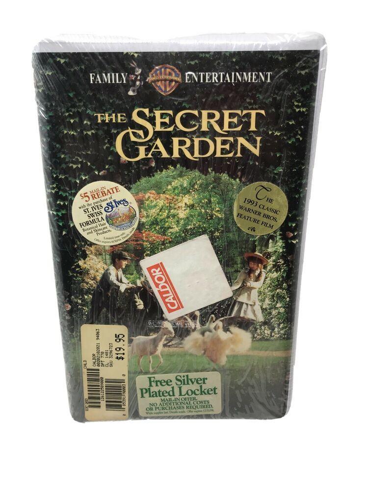 The Secret Garden (VHS, 2002, Clam Shell) 19000 New в 2020 г