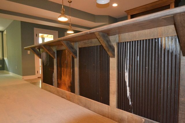 Rustic Basement Bar Ideas   Google Search