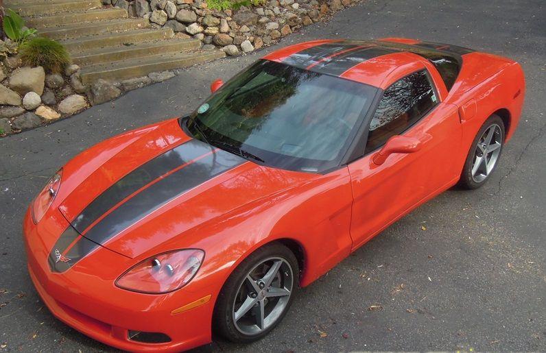 Corvette C6 Base / Z06 / Grand Sport CSR STINGER Style