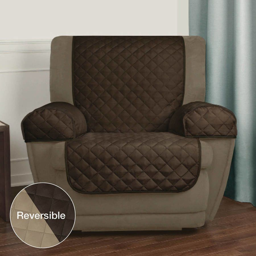 Recliner Pet Chair Cover With 2 Sides Arm Covers Furniture