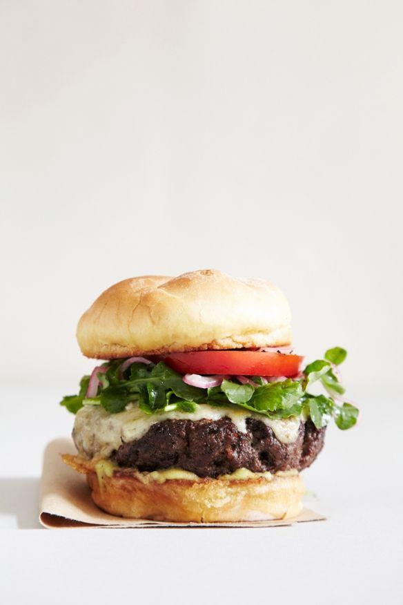 venison burger.