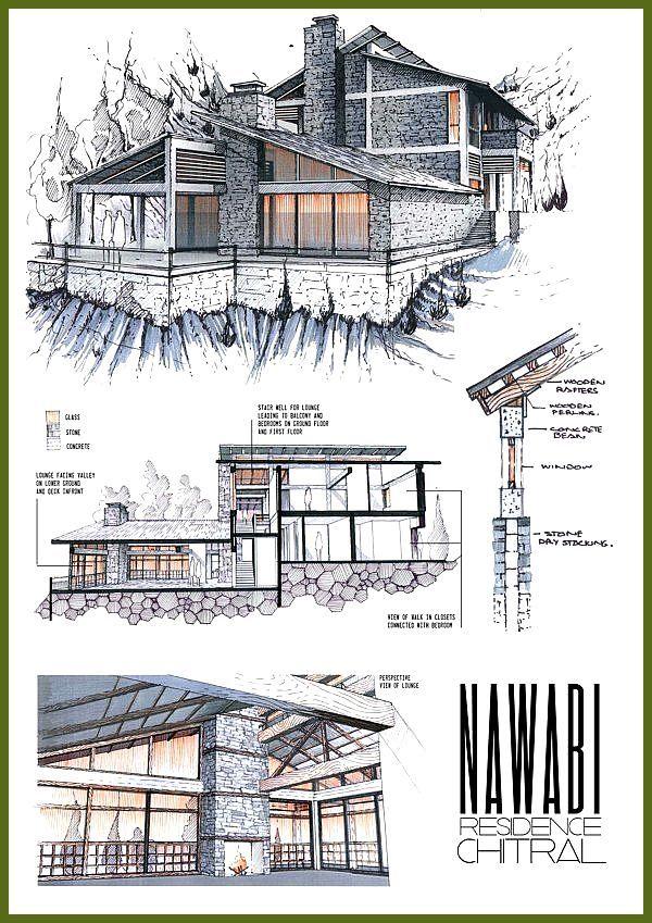Super Professional Architecture Portfolio by Anique Azhar, via Behance Professional Architecture Portfolio by Anique Azhar, via Behance
