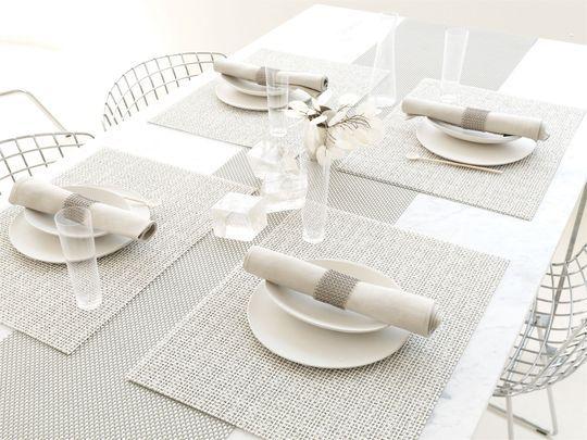 Nappe Deco Chemin De Table Jolie Deco Pour Belle Table De Repas Spring Table Decor Modern Table Linens Chilewich