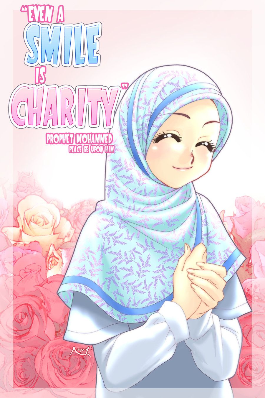 Smile is Charity by Nayzak.deviantart.com on @deviantART