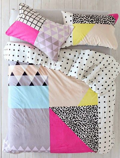print pattern blogged urban outfitters for the home pinterest dreieck fundst cke und. Black Bedroom Furniture Sets. Home Design Ideas