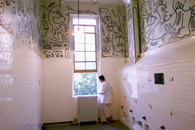 ONCE UPON A TIME Keith Haring1989 room in the Gay and Lesbian