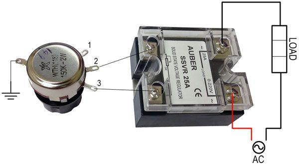 25a Solid State Voltage Regulator High Power Scr Ssvr Ssvr25a 22 50 Auberins Com Temperature Contr Voltage Regulator Higher Power Electronics Storage