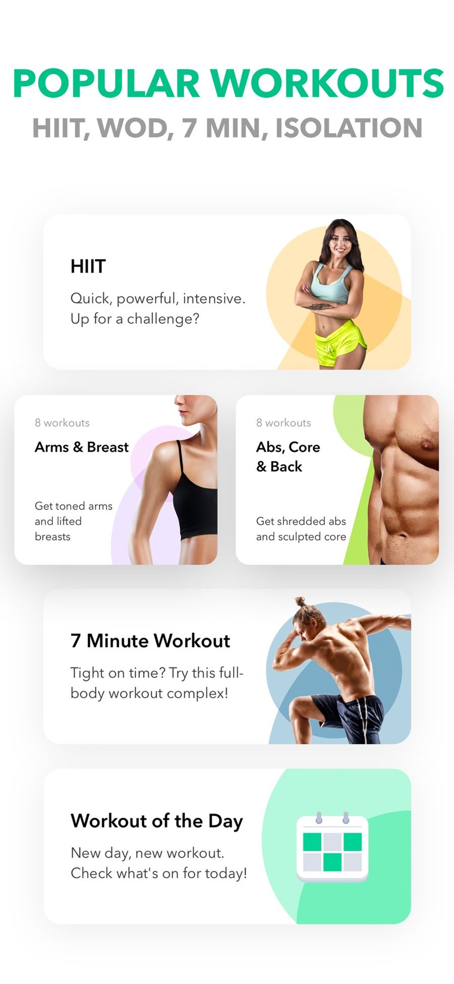 My Fitness Workout by GetFit on the App Store Workout