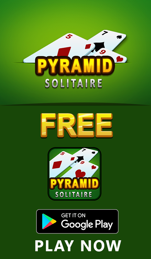 Pyramid Solitaire is a puzzle game that requires logic and