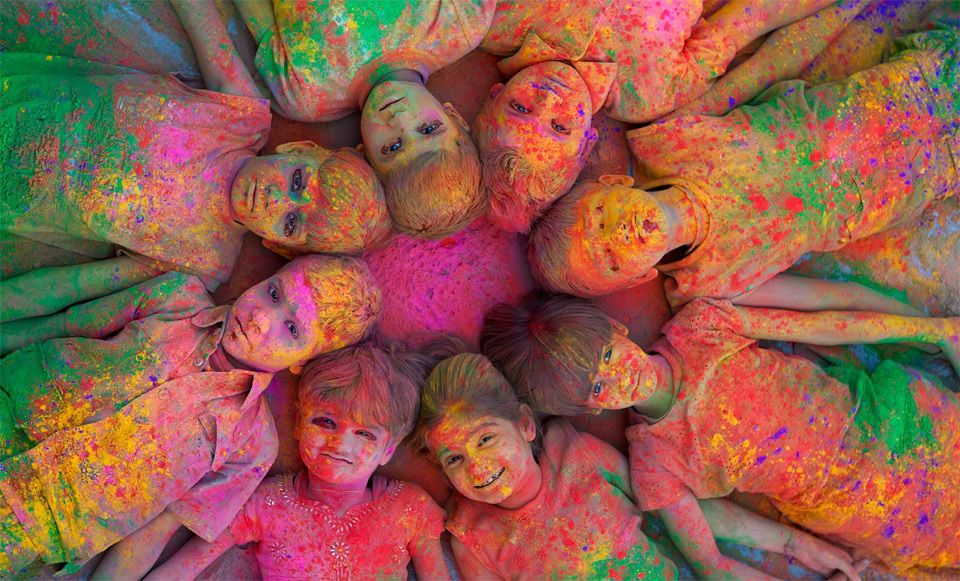 united colors of India