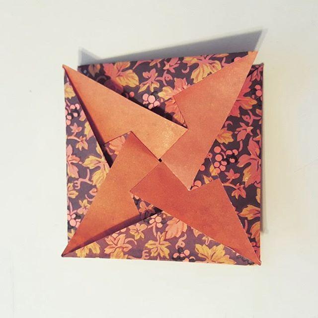 Origami Pinwheel Envelope Creator Unknown Paper 3