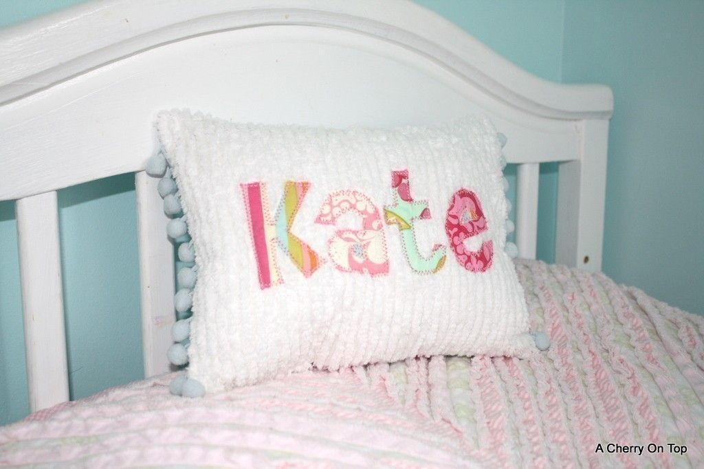 Use favorite baby clothes to make a pillow