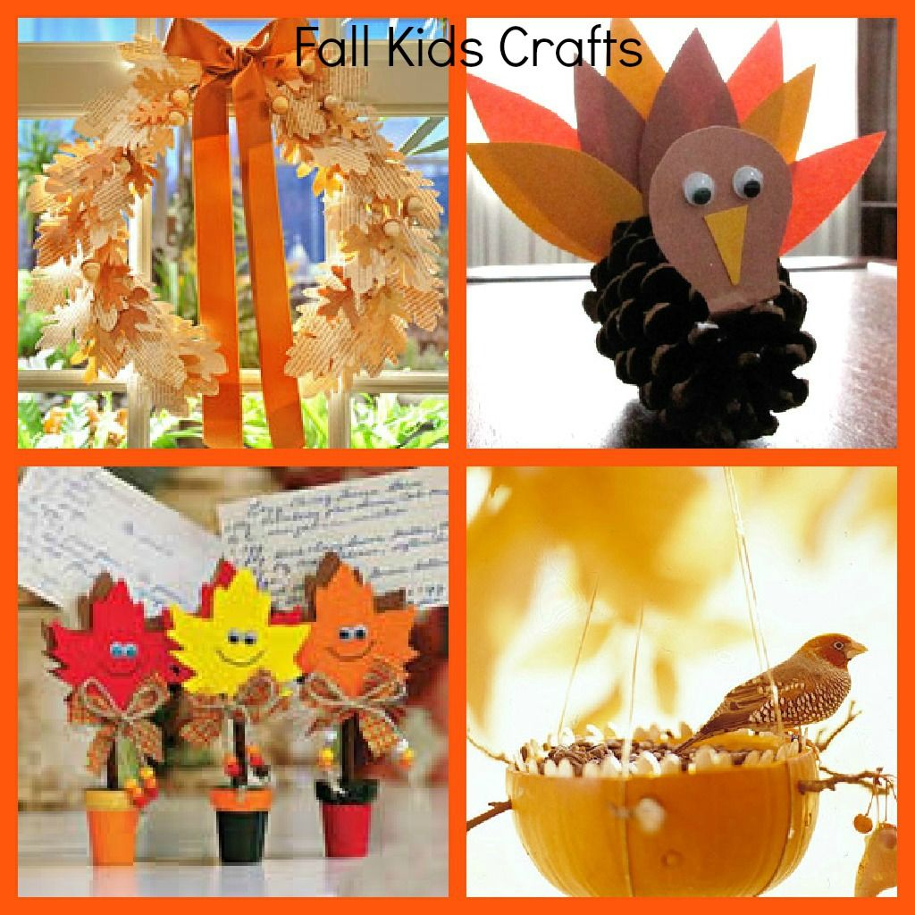 8 Fall Crafts For Kids Mom On The Side