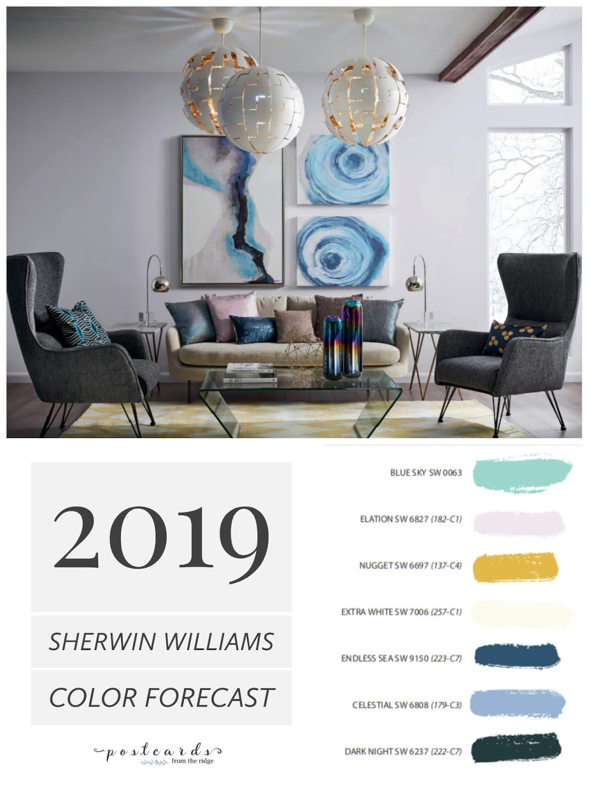 2019 Paint Color Forecast From Sherwin Williams Home