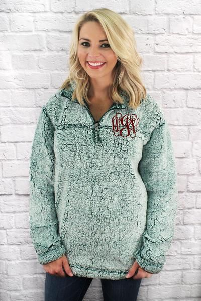 243414c1f6a Boxercraft Frosty Hunter Sherpa Pullover  Personalize It in 2019 ...