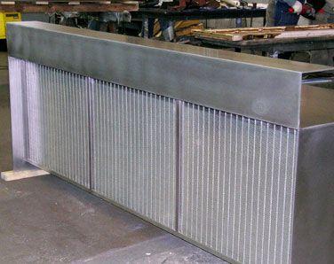 Stainless Steel Reception Desks