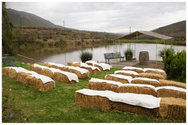N J007 Southboundbride Wedding Beaumont Wines Glee Photography Hay Bales Ceremony