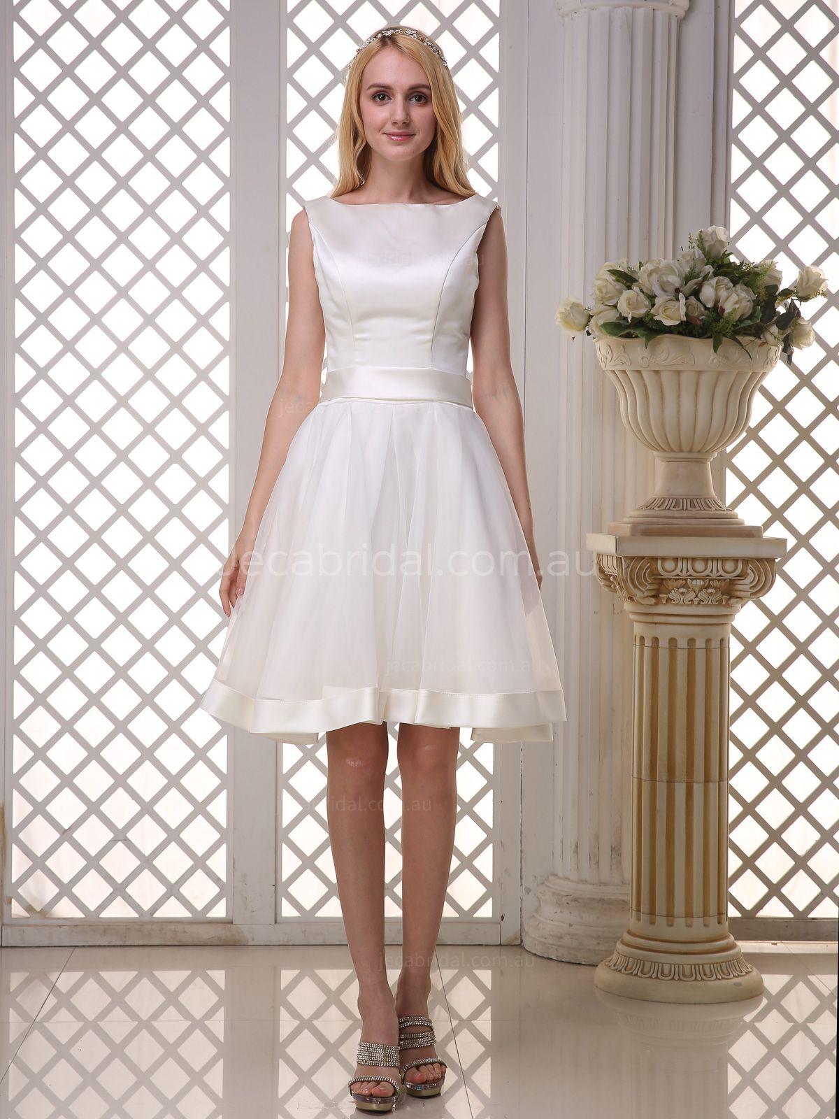 Short Wedding Dresses Jeca Bridal Australia Vestidos De Novia Vestidos De Novia Cortos Vestidos De Moda [ 1600 x 1200 Pixel ]