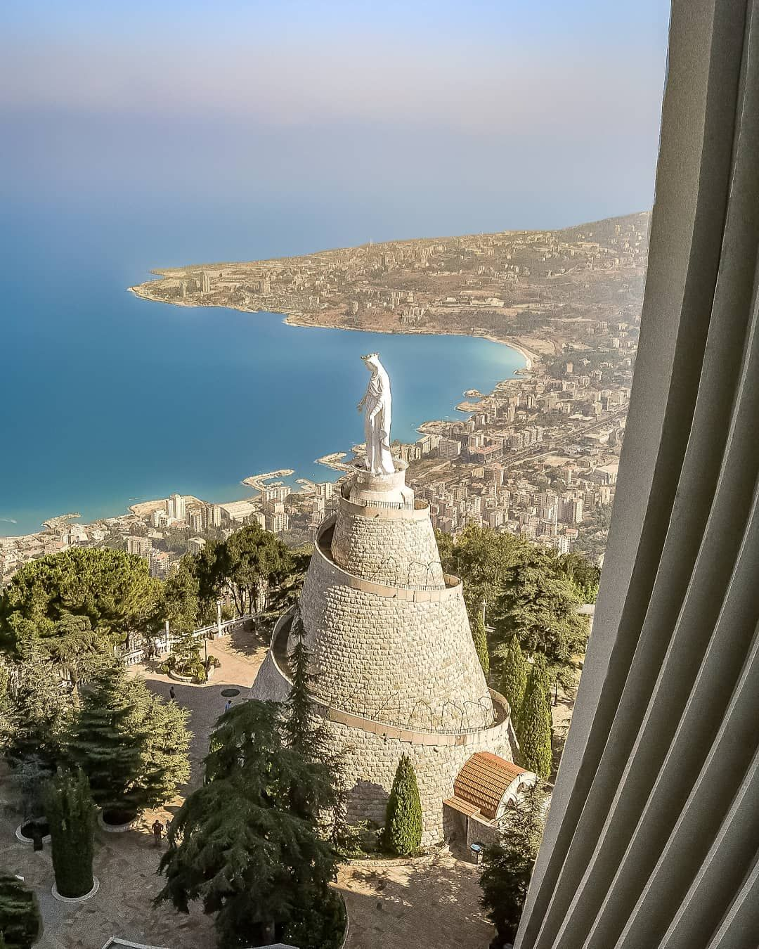 Queen Marie Harissa Lebanon Sky Outdoor And Nature Lebanon Beirut Lebanon Beautiful Places