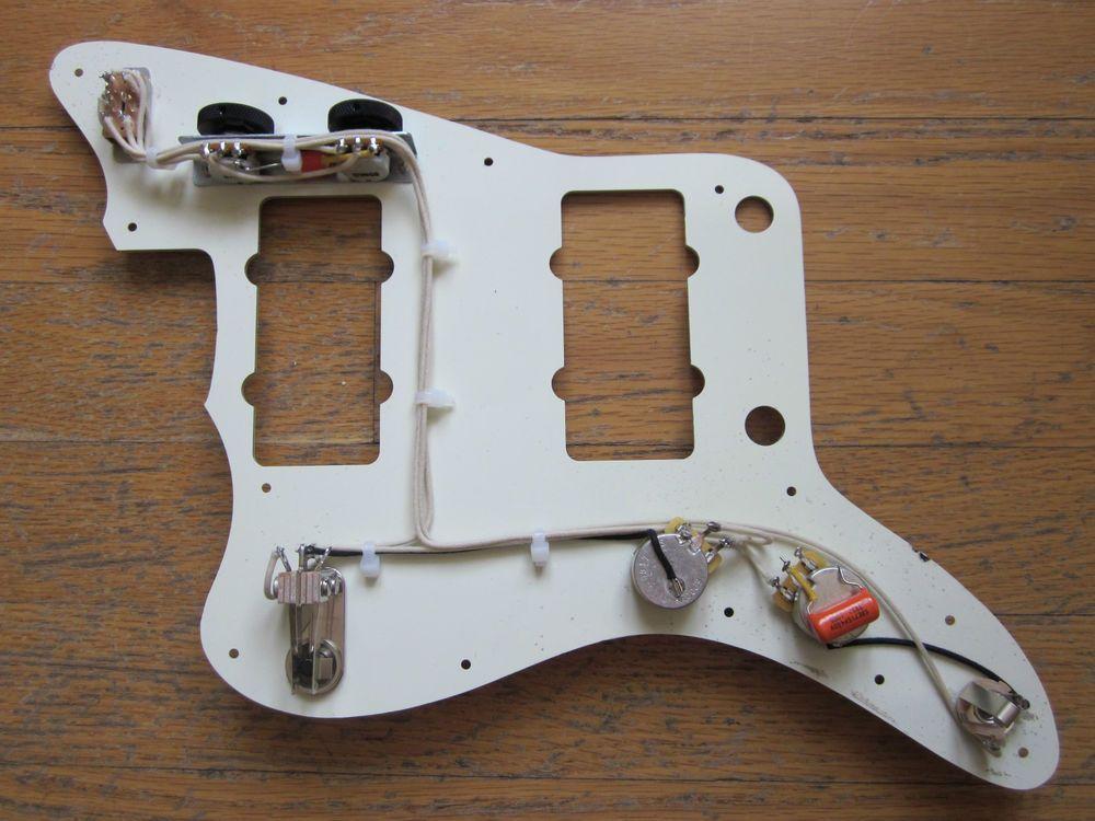 repro upgrade fender jazzmaster wiring harness orange drop rh pinterest com Jazzmaster Diagram fender jazzmaster wiring kit