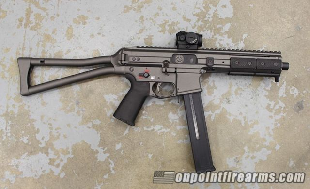 Fresh from Shot Show in Vegas: the new LWRC SMG-45  | Gun