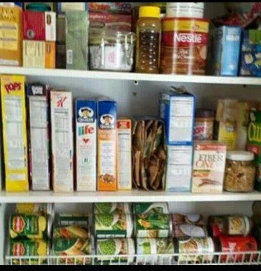 Wire shelf storage