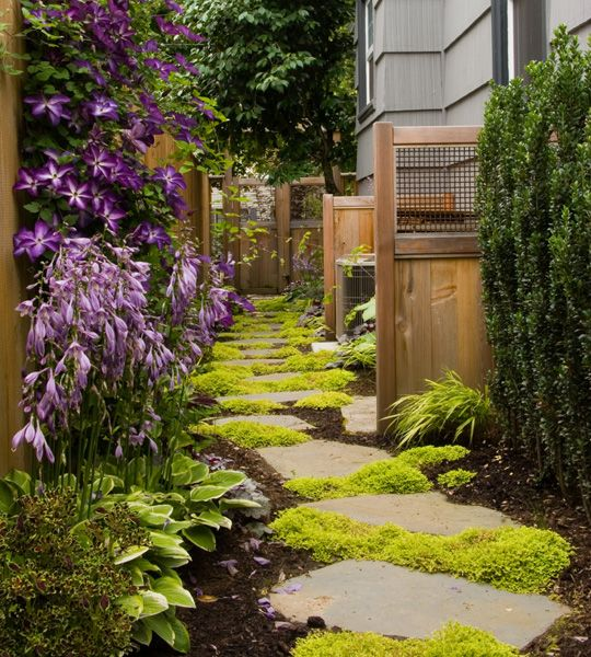Cheap Landscaping Ideas For Back Yard These Ideas First Here Are Three Green Path Ideas That Ca Side Yard Landscaping Beautiful Home Gardens Landscape Design