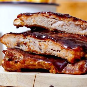 Photo of Lacquered pork ribs
