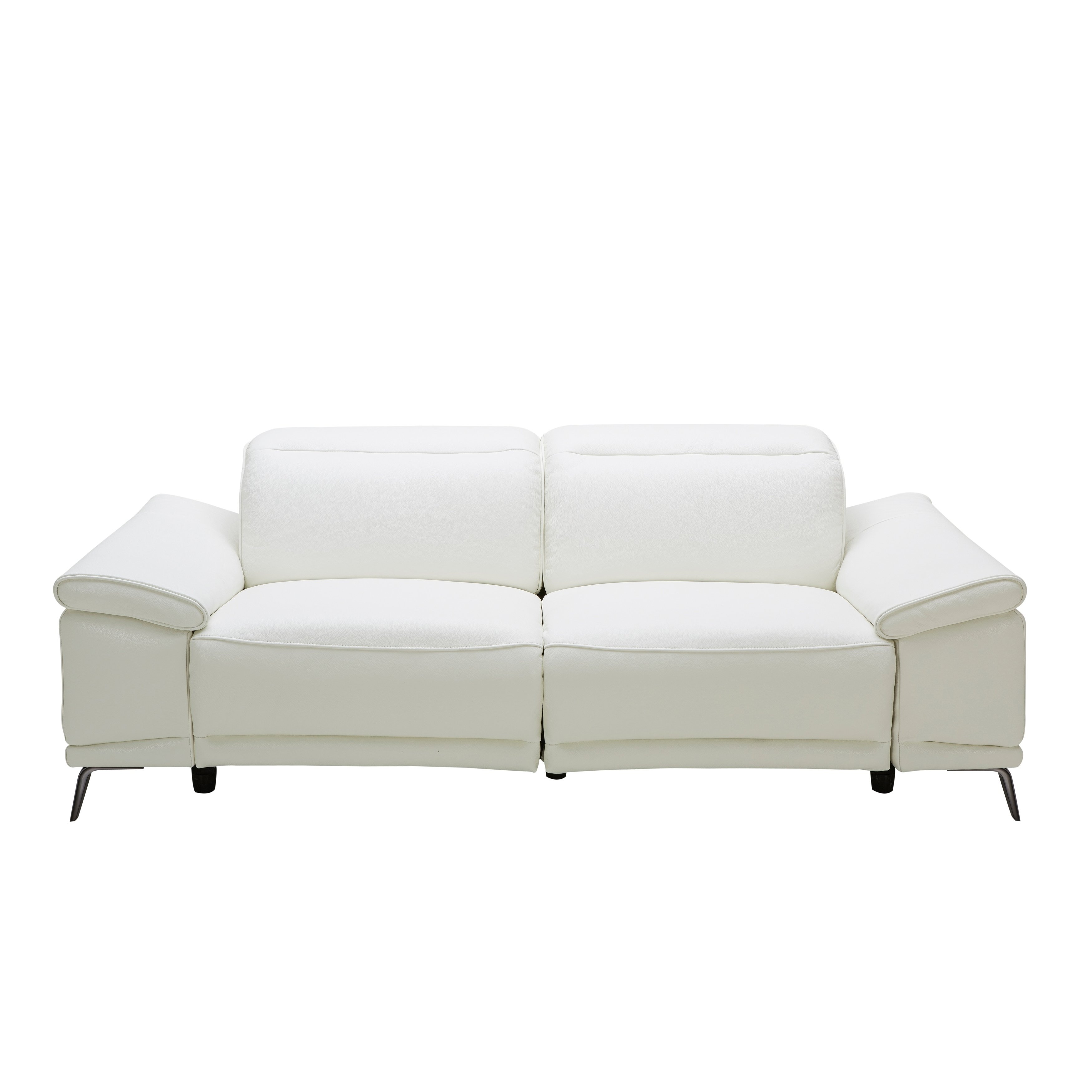 Fantastic Gaia Sofa White Leather Products In 2019 Leather Unemploymentrelief Wooden Chair Designs For Living Room Unemploymentrelieforg